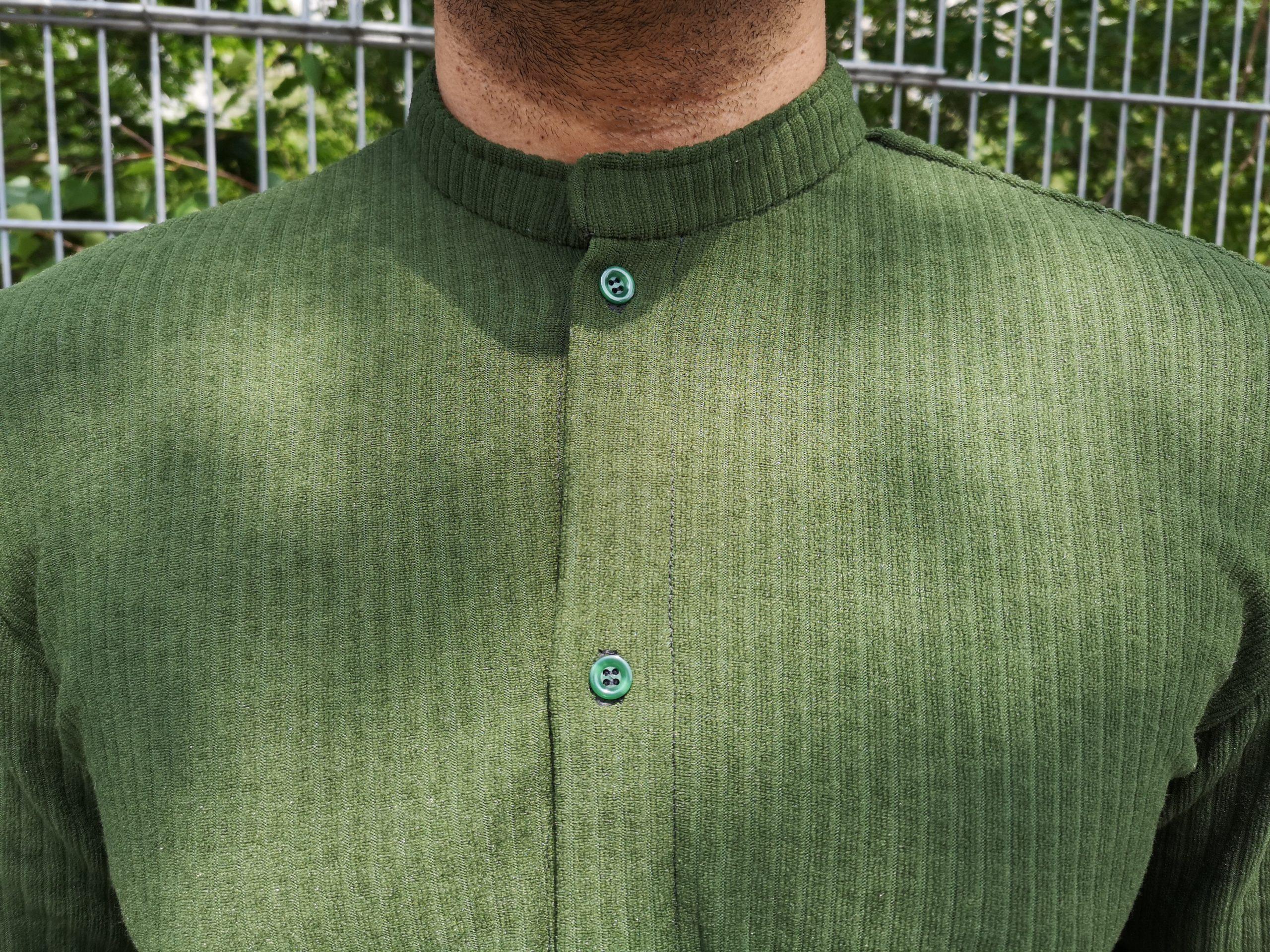 aynovo green blouse