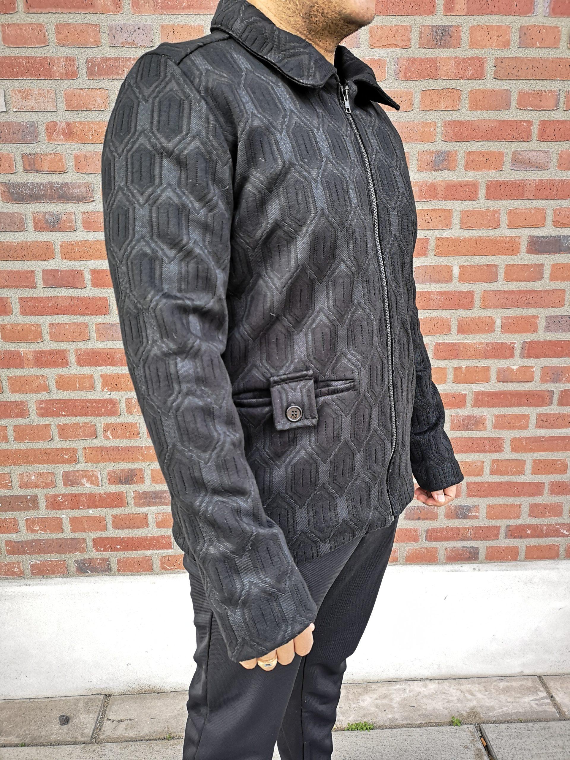 Aynovo Structured Black Jacket 2