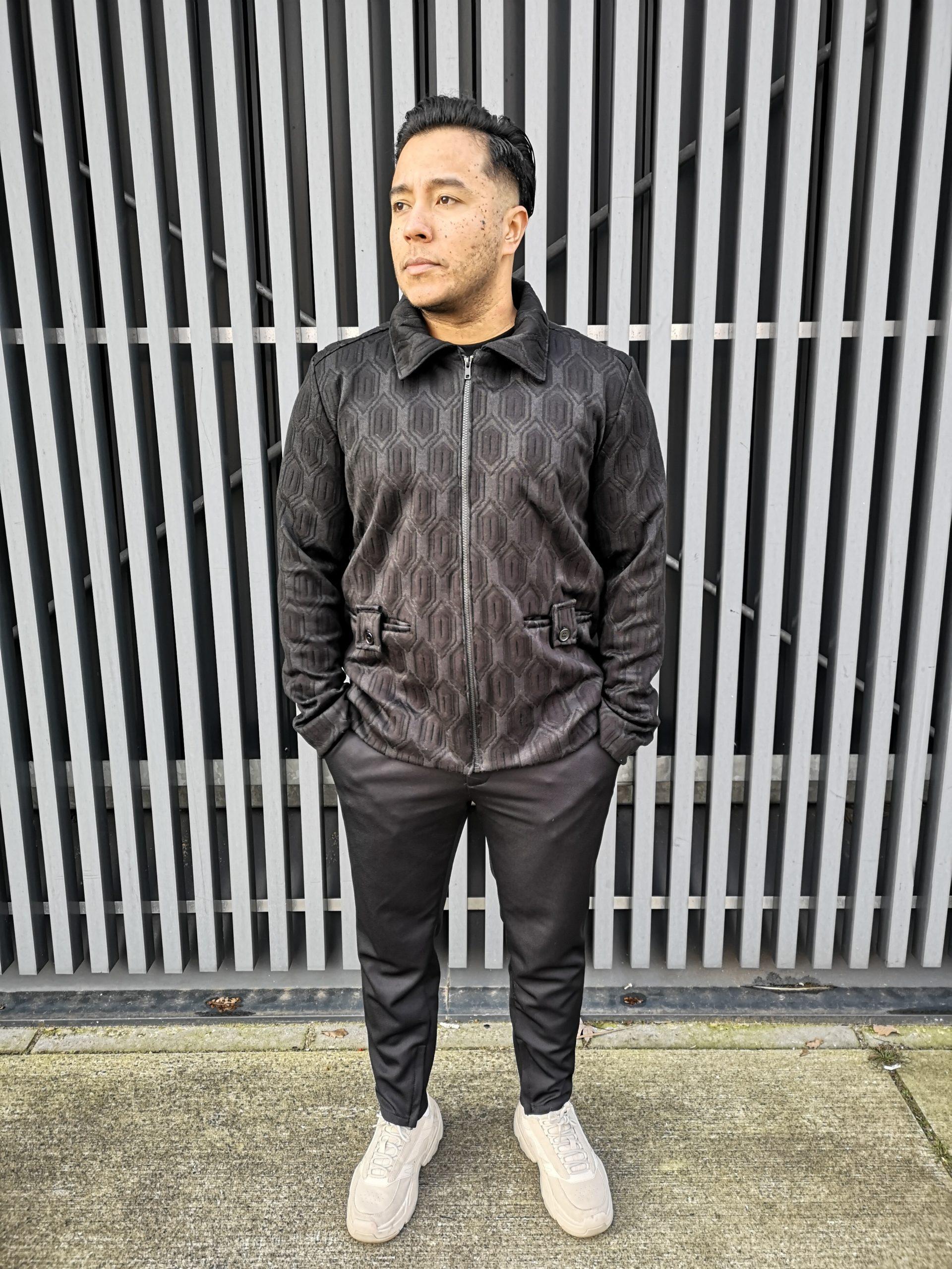 Aynovo Structured Black Jacket 1