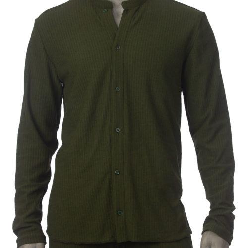 Groene blouse voorkant