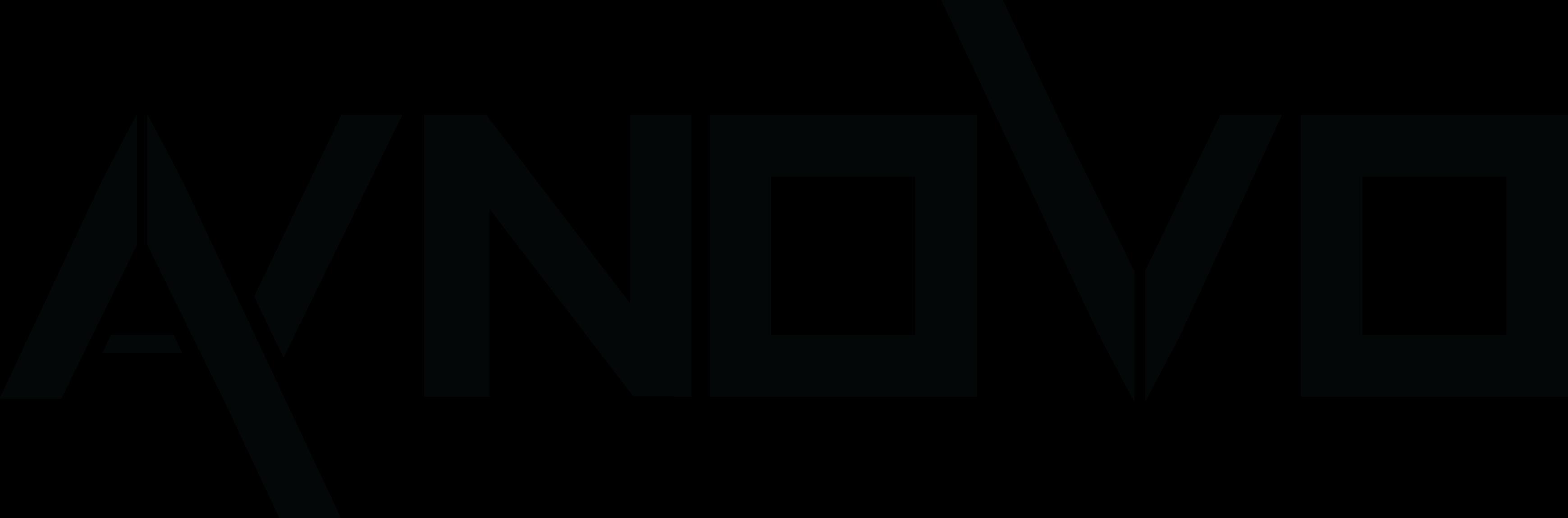 Aynovo logo zwart